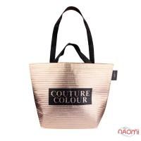 Сумка фирменная Couture Colour, 47x34x17,5 см, цвет розовое золото