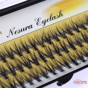 Пучкові вії Nesura Eyelash 12 мм, чорні