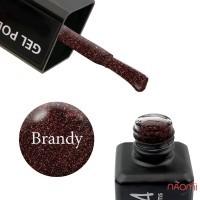 Гель-лак ReformA Brandy 941122 коричневый с мерцающими золотистыми шиммерами, 10 мл