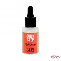 Засіб для видалення кутикули NUB Quick Step Cuticle Remover, 30 мл