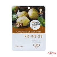 Маска для лица тканевая Natureby Potato Essence Mask Sheet с экстрактом картофеля, 23 мл