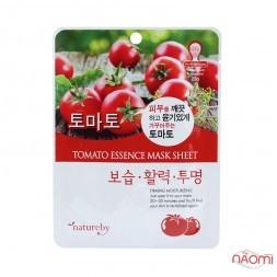 Маска для лица тканевая Natureby Tomato Essence Mask Sheet с томатом, 23 мл