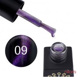 Гель-лак Global Fashion 24D Magic Cat Eye 09 рожево-фіолетовий, 8 мл