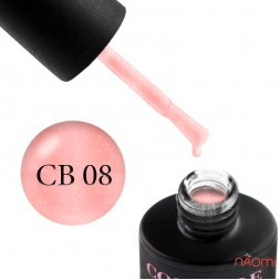 База камуфлируююча каучукова для гель-лаку Couture Colour Cover Rubber Base Coat № 8, 9 мл