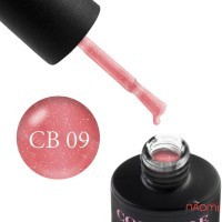 База камуфлирующая каучуковая для гель-лака Couture Colour Cover Rubber Base Coat 09, 9 мл