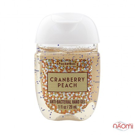 Санитайзер Bath Body Works PocketBac Cranberry Peach, клюква и сладкий персик, 29 мл, фото 1, 87.00 грн.