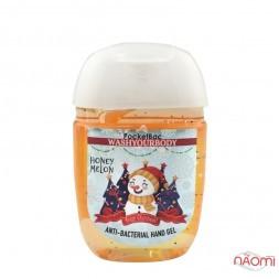 Санітайзер Washyourbody PocketBac Honey Melon, медова диня, 29 мл