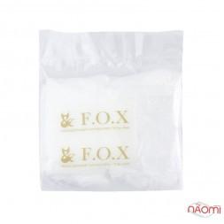Рукавички одноразові для манікюру F.O.X з кератином, колагеном і екстрактом лотоса, пара