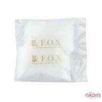 Носочки одноразовые для педикюра F.O.X с кератином, коллагеном и экстрактом лотоса, пара