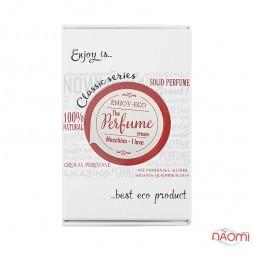 Натуральные твердые духи Enjoy-Eco Perfume Cream Moschino I love, 15 г