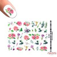Слайдер-дизайн 3D 822 Цветы