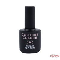 Топ каучуковый для гель-лака Couture Colour Rubber Top Coat, 15 мл