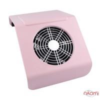 Вытяжка для маникюра Simei 858-2A 40 Вт, 18х28х11 см, цвет розовый