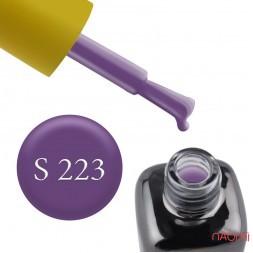 Гель-лак LEO Seasons Winter S223 фіолетовий цикламен, 9 мл