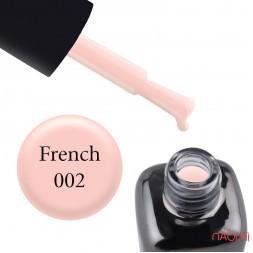 Гель-лак LEO French 002 рожевий серпанок, 9 мл