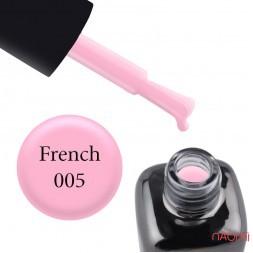 Гель-лак LEO French 005 мягкий сиреневый, 9 мл