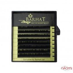 Вії Barhat C 0.05 (8 рядів: 9, 10, 11, 12 мм), чорні