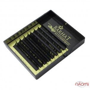 Ресницы Barhat C 0.05 (8 рядов: 9, 10, 11, 12 мм), черные