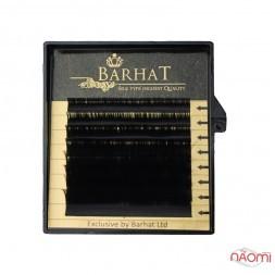 Ресницы Barhat B 0.07 (8 рядов: 7-14 мм), черные