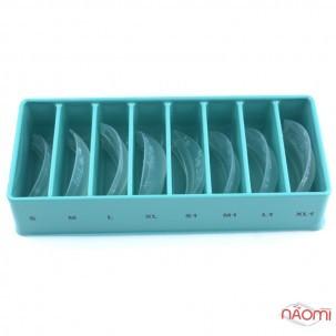 Набор силиконовых бигуди InLei Total, размер S, S1, M, M1, L, L1, XL, XL1, 8 пар