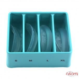 Набор силиконовых бигуди InLei Only, размер S, M, L,  XL, 4 пары