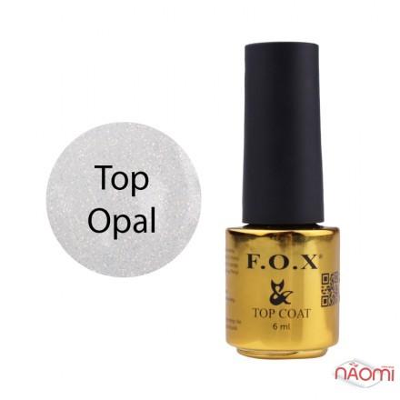 Топ для гель-лака F.O.X Top Opal, 6 мл, фото 1, 115.00 грн.