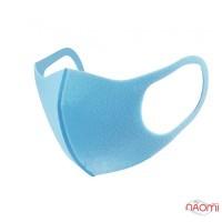 Питта-маска на лицо многоразовая защитная PITTA Mask, цвет голубой, 3 шт.