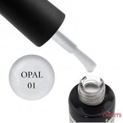 Гель-лак Oxxi Professional Opal 01 прозрачный микроблеск, 10 мл