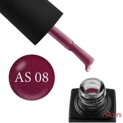 Гель-лак GO Active Always Sparkle 08 сливовое вино с шиммерами, 10 мл