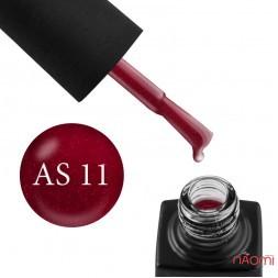 Гель-лак GO Active Always Sparkle 11 малиново-красный с шиммерами, 10 мл