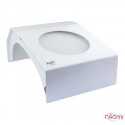 Витяжка для манікюру French F4 з HEPA-фільтром, 40-110 Вт, металева, 35х23,5х15 см, колір білий