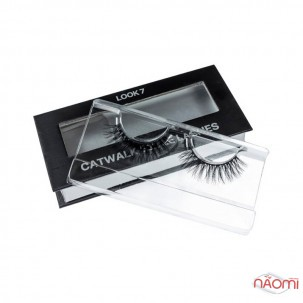 Вії накладні Kodi Professional Catwalk Style Lashes Look 7, на стрічці, чорні