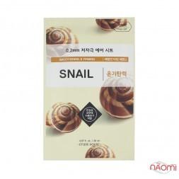 Маска для лица Etude House 0,2 mm Therapy Air Mask Snail с улиточным муцином, 20 мл