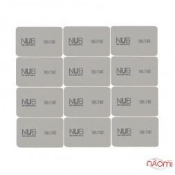 Набір одноразових бафиків для нігтів NUB 180/240, 12 шт.