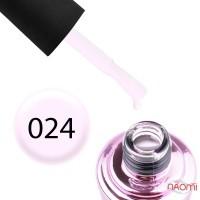 Гель-лак Elise Braun 024 молочний бузково-рожевий, 7 мл