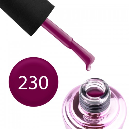Гель-лак Elise Braun 230 вишневое бордо, 7 мл, фото 1, 135.00 грн.