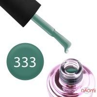 Гель-лак Elise Braun 333 сіро-зелений, 7 мл