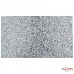 Фотофон для манікюру, 40x24 см, колір срібло
