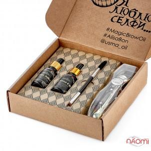 Комплекс для восстановления бровей, ресниц и волос Alisa Bon Magic Oil Box