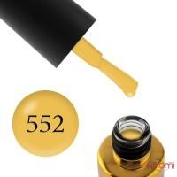 Гель-лак F.O.X Love Song 552 медово-горчичный, 6 мл