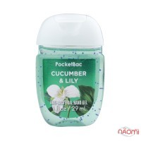 Санитайзер Bath Body Works PocketBac Cucumber Lily, огурец и лилия, 29 мл