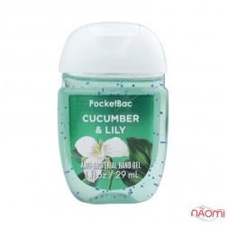 Санітайзер Bath Body Works PocketBac Cucumber Lily, огірок і лілія, 29 мл