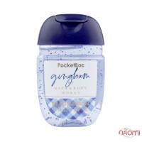 Санитайзер Bath Body Works PocketBac Gingham, голубая фрезия и сладкий клементин, 29 мл
