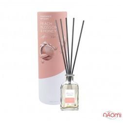 Дифузор ароматичний для будинку з паличками Paoti Four Peach Blossom & Honey, 100 мл