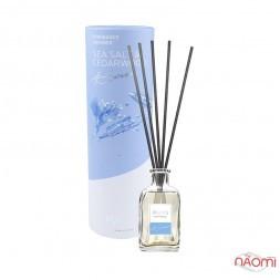 Дифузор ароматичний для будинку з паличками Paoti Seven Sea Salt & Cedarwood, 100 мл