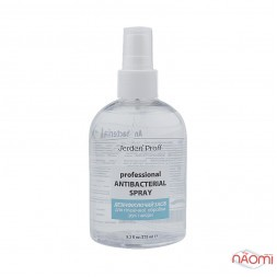 Средство для дезинфекции рук и кожи Jerden Proff Professional Antibacterial Spray, 275 мл