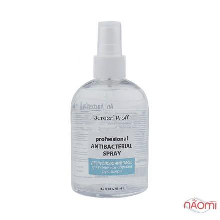 Средство для дезинфекции рук и кожи Jerden Proff Professional Antibacterial Spray, 275 мл, фото 1, 170.00 грн.
