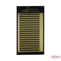 Пучковые ресницы Barhat 2D (Y) C 0.10 (18 рядов: 8-12 мм), черные