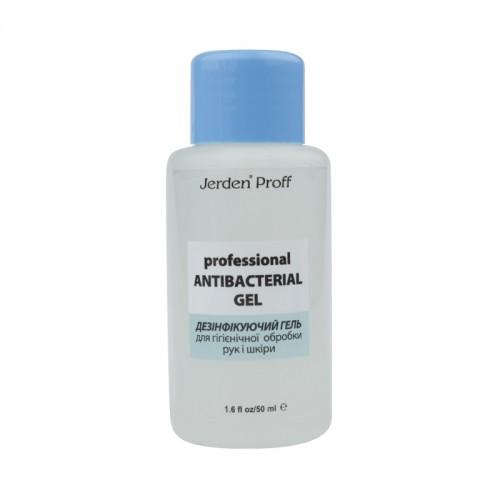 Гель для дезинфекции рук и кожи Jerden Proff Professional Antibacterial Gel, 50 мл, фото 1, 30.00 грн.