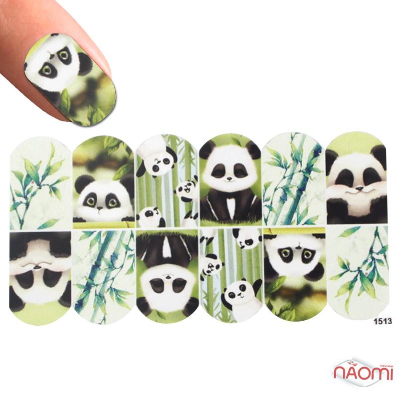 Слайдер-дизайн 1513 Панда, бамбук, фото 1, 15.00 грн.